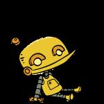 Robot_HandDrawn_Seated
